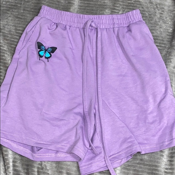 Pants - butterfly shorts
